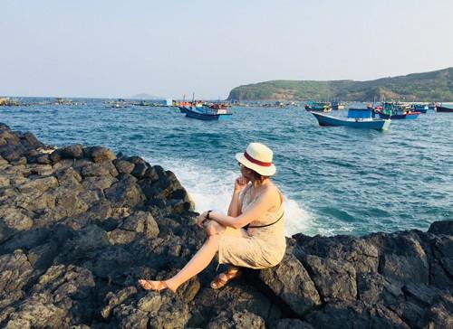 Làng chài ít người biết gần Gành Đá Đĩa của Phú Yên - Ảnh 2.