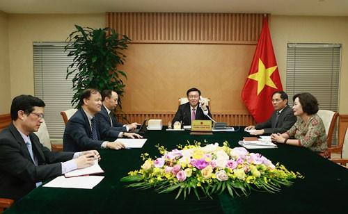 Mỹ đánh giá cao việc Việt Nam cung cấp chủ trương về chính sách tài chính-tiền tệ - Ảnh 1.
