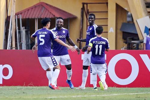 Hà Nội FC và B.Bình Dương giành quyền vào vòng knock-out AFC Cup - Ảnh 1.