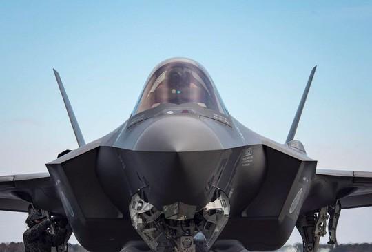 """""""Tia chớp"""" F-35 hỏng nặng vì bị chim đâm trúng - ảnh 2"""