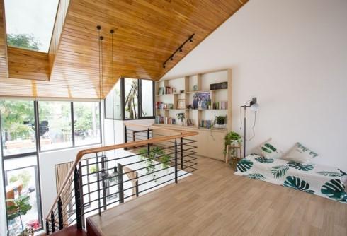 Nhà tối giản nhưng đầy đủ ánh sáng và cây xanh - Ảnh 6.