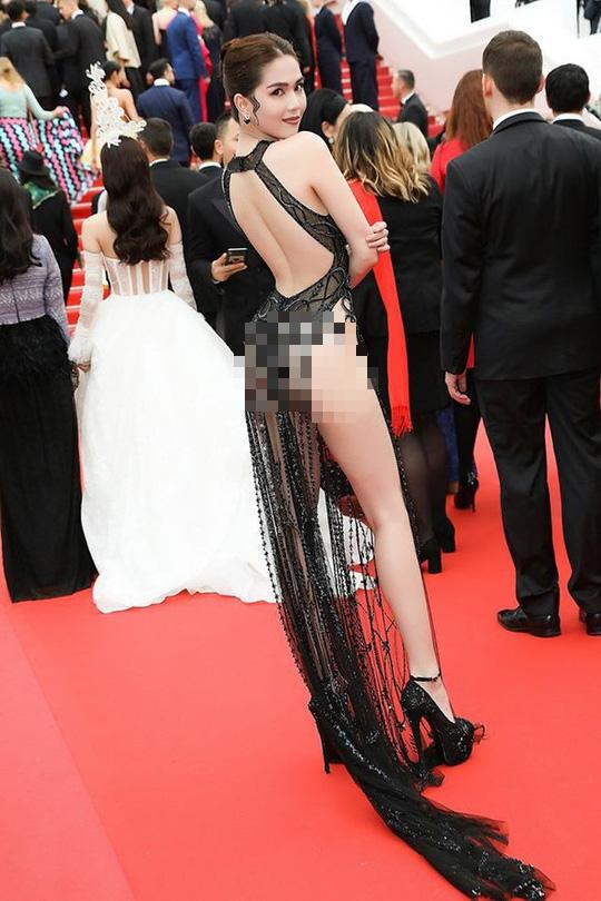 Ngọc Trinh đến Cannes theo lời mời đại diện nhà tài trợ chính? - Ảnh 1.