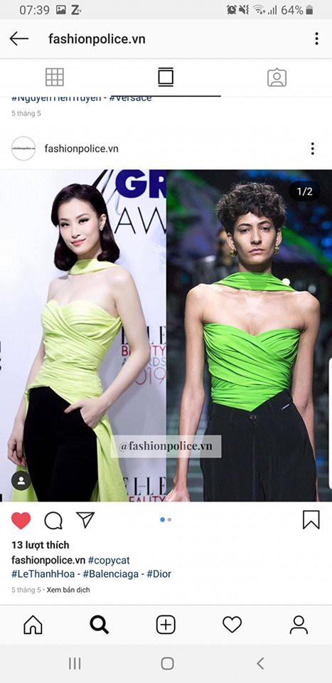 Nhà thiết kế Lê Thanh Hòa bị tố là  ăn cắp - Ảnh 4.