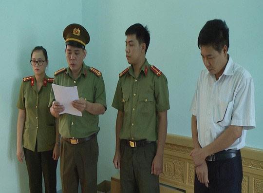 Vụ gian lận điểm thi ở Sơn La: Đề nghị truy tố 8 bị can - Ảnh 1.