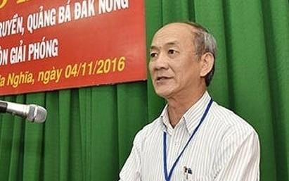 Truy to nguyen Chanh van phong Tinh uy Dak Nong vi nghiem thu khong cong trinh
