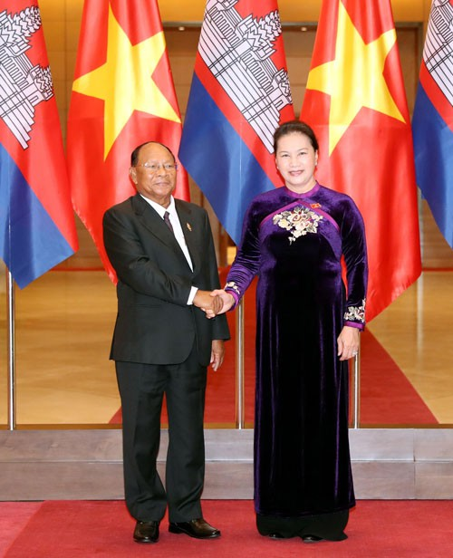 Phát huy tình đoàn kết Việt Nam - Campuchia - Ảnh 1.