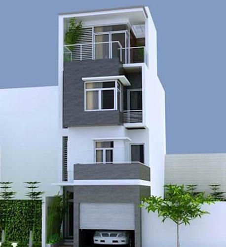 10 mẫu nhà phố 6x10m đẹp xiêu lòng - Ảnh 10.