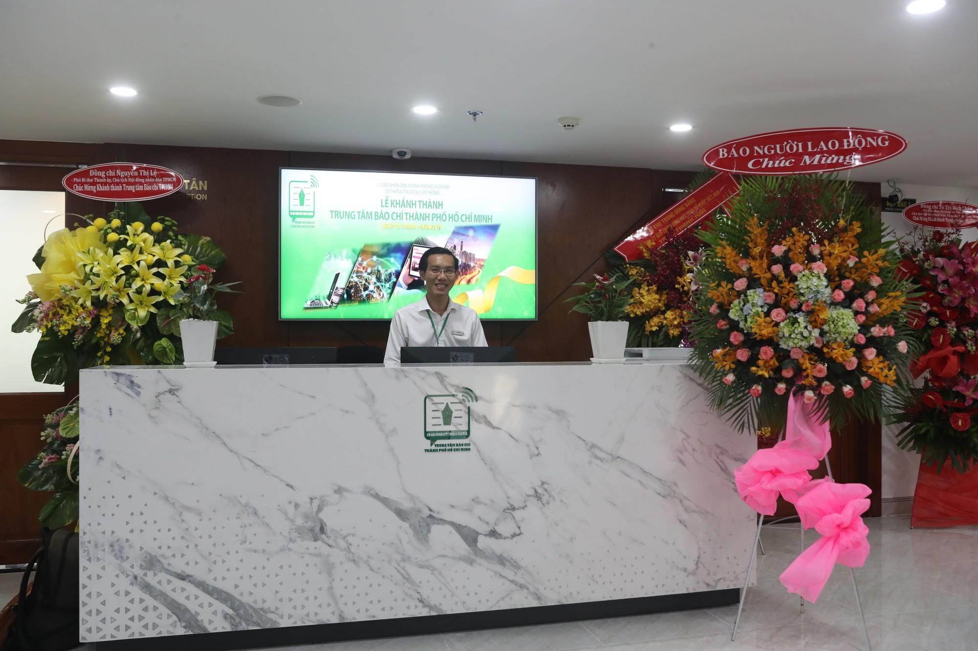 TP HCM khánh thành Trung tâm Báo chí đầu tiên ở Việt Nam - Ảnh 11.