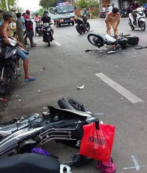 TP Vũng Tàu: Xe tải tông 3 xe máy, 1 người đã tử vong - ảnh 2