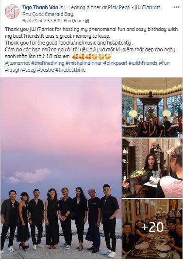 Ngô Thanh Vân đón sinh nhật cực chất tại nhà hàng Pink Pearl - JW Marriott Phu Quoc Emerald Bay - Ảnh 4.