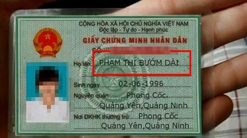 Những tên khai sinh độc lạ nhất Việt Nam - Ảnh 9.