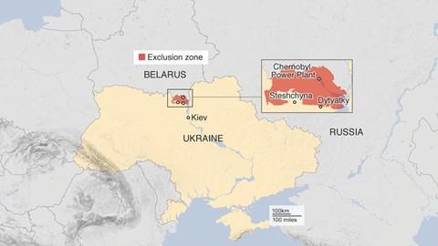 Du khách đổ xô đến thành phố bị nhiễm phóng xạ ở Ukraine - Ảnh 1.