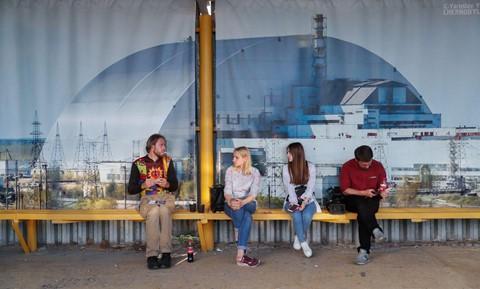 Du khách đổ xô đến thành phố bị nhiễm phóng xạ ở Ukraine - Ảnh 5.