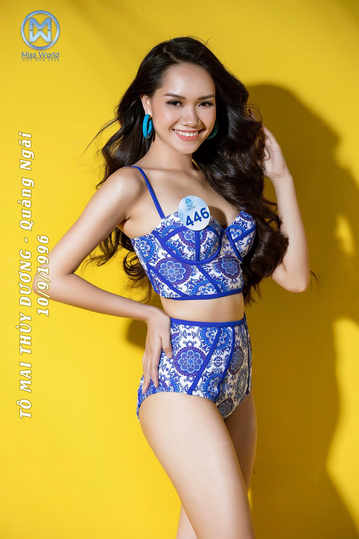 Thí Sinh Miss World Việt Nam nóng bỏng trong trang phục Bikini - Ảnh 19.
