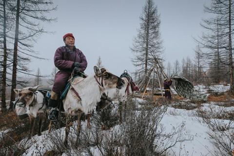 Cuộc sống dưới cánh đại bàng của người dân Mông Cổ - Ảnh 14.