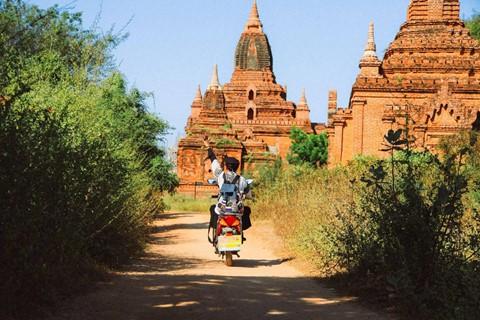 Tiếng vó ngựa len lỏi giữa những khu đền ở Myanmar - Ảnh 1.