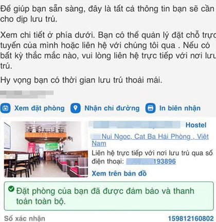 Nữ du khách Hà Nội mất tiền oan vì thuê nhầm khách sạn ma - Ảnh 3.