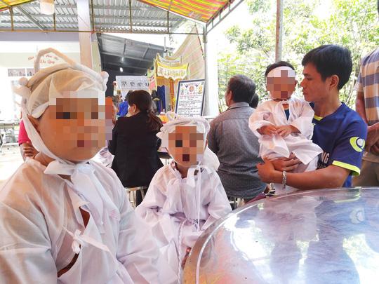 Chồng giết vợ ở Phú Quốc rồi tự tử: Xót lòng nhìn 3 đứa trẻ bơ vơ - Ảnh 3.
