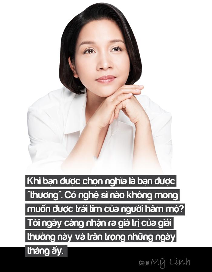 [eMagazine] - Ca sĩ Mỹ Linh: Giải Mai Vàng là dấu mốc quan trọng của gia đình tôi - Ảnh 3.