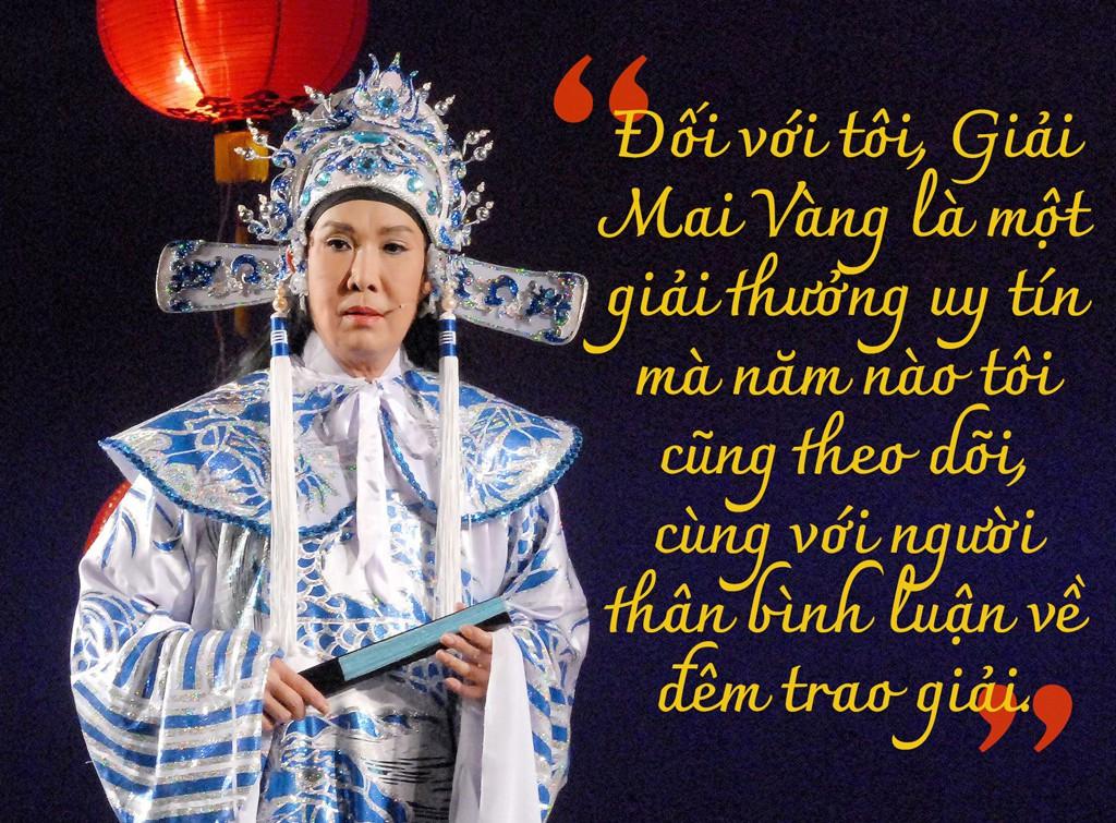 [eMagazine] NSƯT Vũ Linh: Mai Vàng khiến tôi cảm thấy vinh dự! - Ảnh 2.