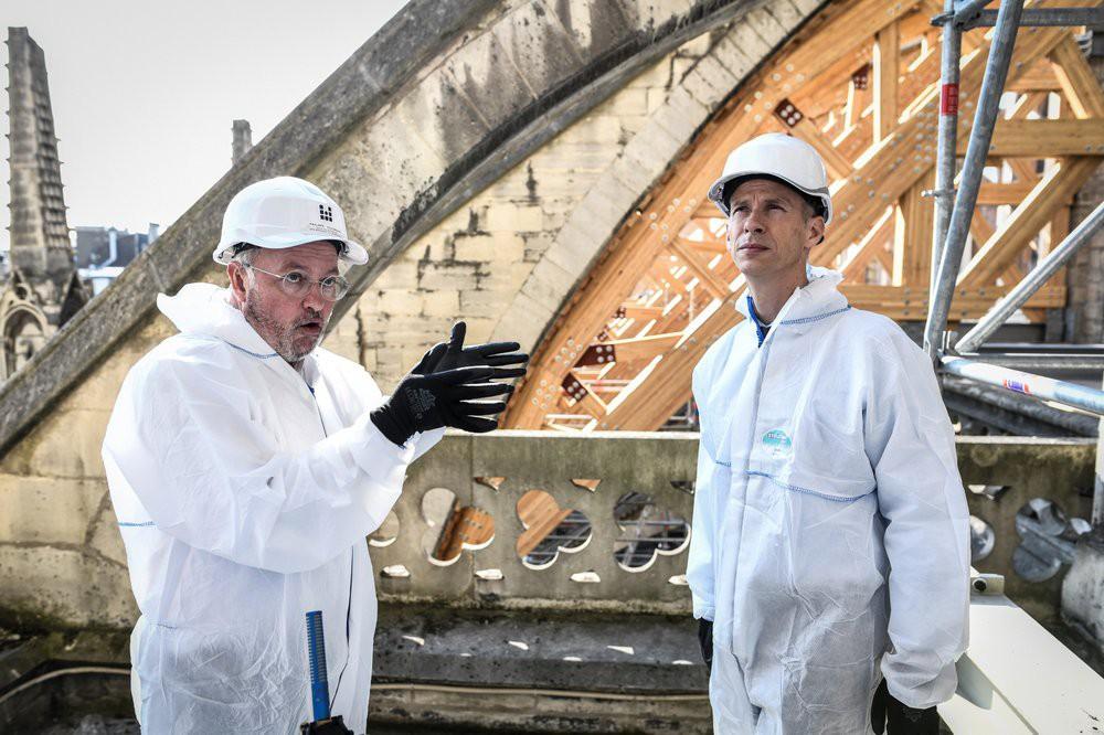 Nhà thờ Đức Bà Paris vẫn chưa đủ an toàn để được trùng tu  - Ảnh 8.