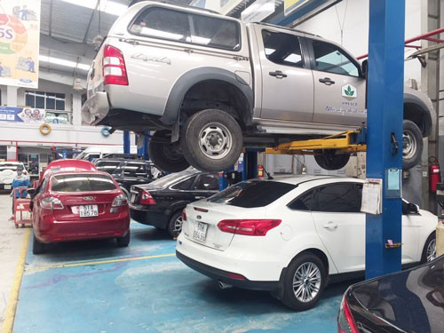 Phí bảo dưỡng ôtô cao chót vót
