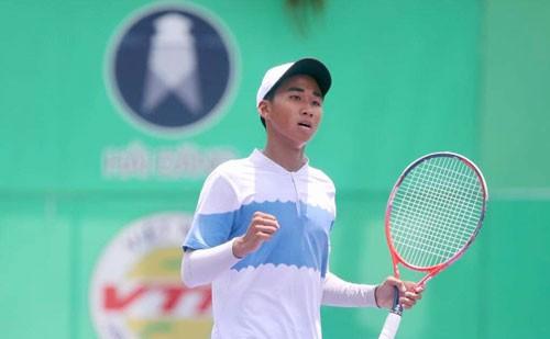 Vũ Hà Minh Đức tiếp tục gây sốc ở Giải ITF trẻ - Ảnh 1.