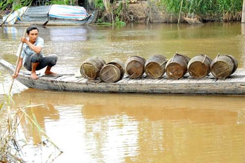 Nước Mê Kông thấp kỷ lục, ĐBSCL lo mất lũ - Ảnh 1.