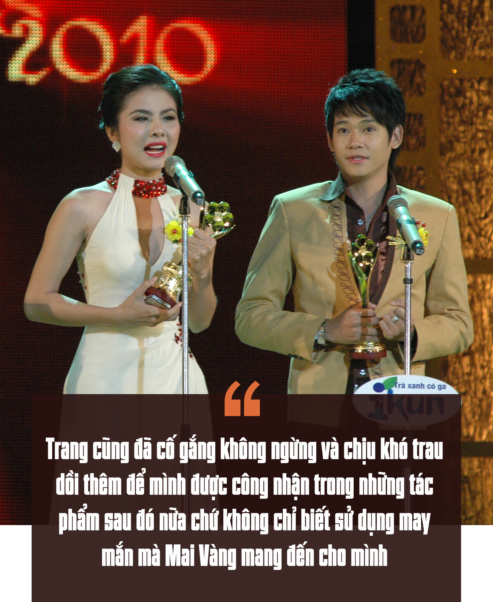 [eMagazine] Vân Trang: Giải Mai Vàng là dấu son quý giá trong sự nghiệp của tôi! - Ảnh 4.