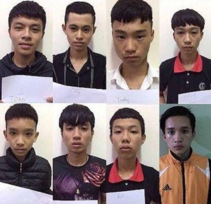 Mâu thuẫn qua facebook, 8 thiếu niên giết người - Ảnh 1.