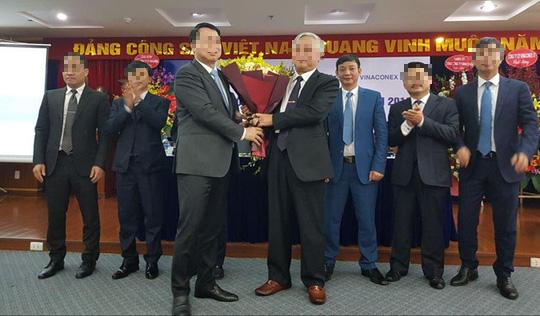 Tong Giam doc Vinaconex Nguyen Xuan Dong bi Co quan an ninh dieu tra trieu tap