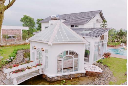 Những biệt thự nghỉ dưỡng gần Hà Nội không thể không đến vào mùa hè này - Ảnh 4.