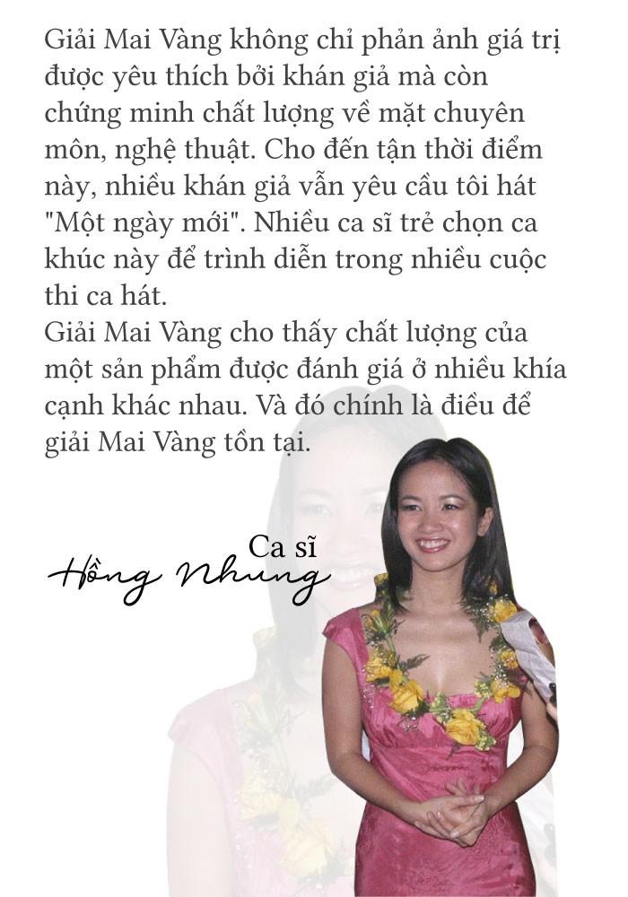 [eMagazine] - Giải Mai Vàng chứng minh Hồng Nhung là một ngôi sao - Ảnh 1.