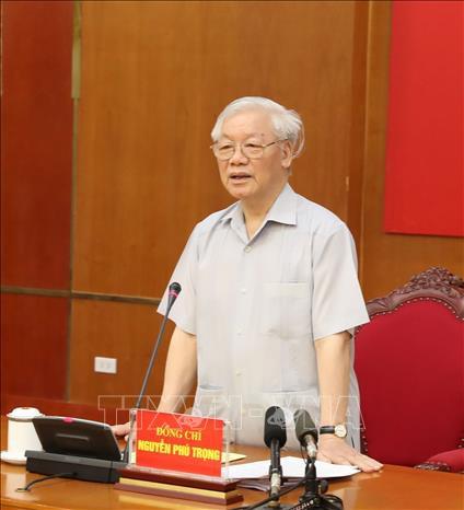 Tổng Bí thư, Chủ tịch nước chủ trì họp Ban Chỉ đạo Trung ương về phòng, chống tham nhũng - ảnh 2