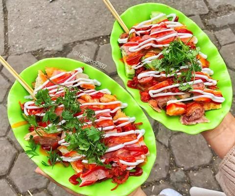 Món ngon khu Chùa Láng cho dân văn phòng thích ăn vặt - Ảnh 9.