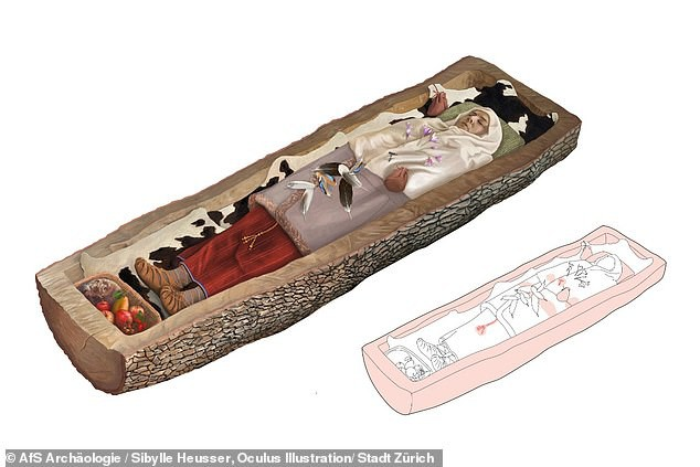 Cổ thụ hóa mộ cổ, che giấu người đàn bà lộng lẫy 2.200 tuổi - Ảnh 2.