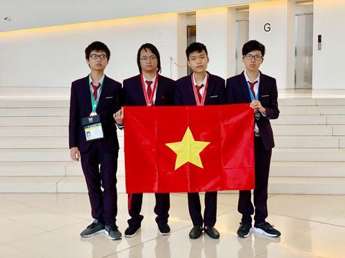 Việt Nam đoạt 2 huy chương vàng Olympic Tin học quốc tế - Ảnh 1.