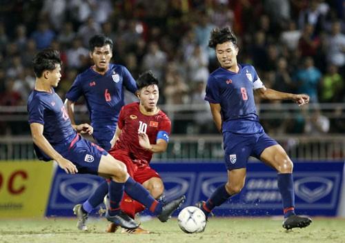 U18 Việt Nam không thắng nổi Thái Lan đã bị loại - Ảnh 1.
