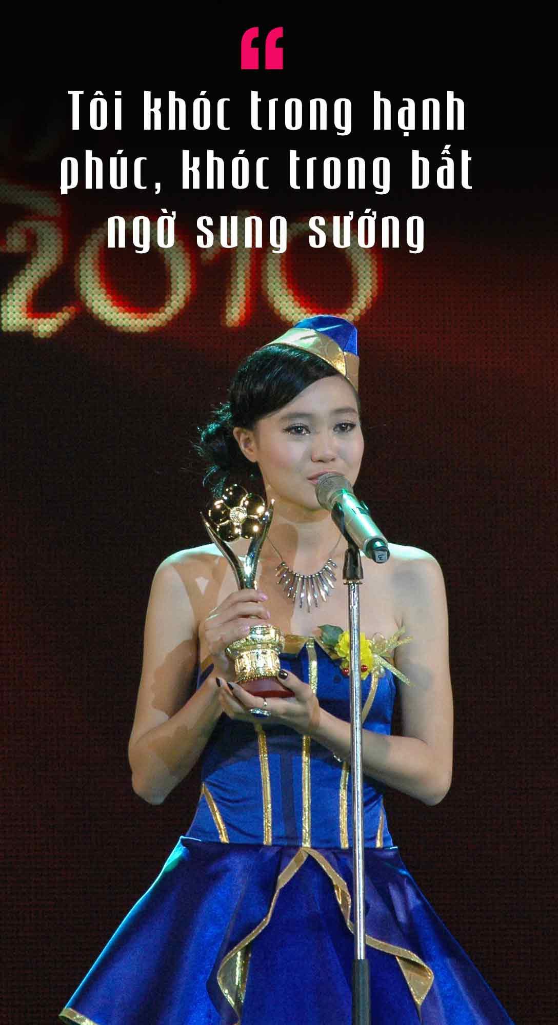 Giải Mai Vàng – Cột mốc đầu tiên của Ninh Dương Lan Ngọc - Ảnh 2.