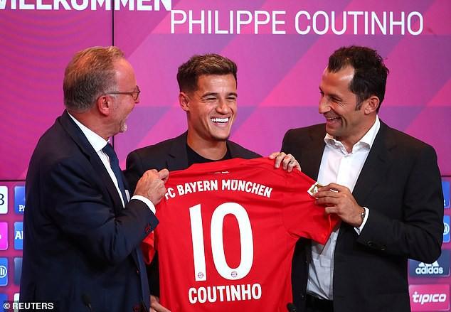 Đón tân binh Coutinho, Bayern mơ chinh phục Champions League - Ảnh 1.