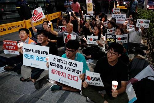 Hàn - Nhật thêm rạn nứt, Mỹ lo lắng - Ảnh 1.