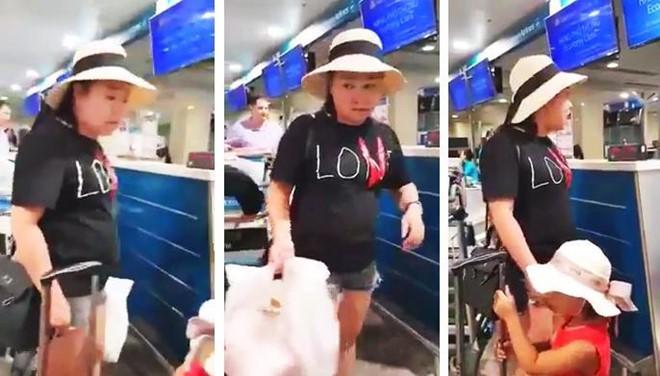 Đình chỉ công tác, xử lý nghiêm nữ công an lăng mạ nhân viên sân bay Tân Sơn Nhất - Ảnh 1.
