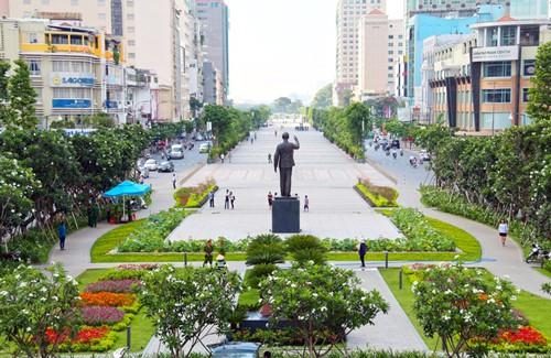 Lễ hội Âm nhạc Quốc tế TP HCM lần thứ 1 sẽ được tổ chức tại phố đi bộ Nguyễn Huệ; Ảnh: Nguyễn Phan