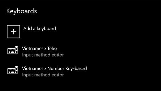 Bộ gõ tiếng Việt đã có mặt ở phiên bản cập nhật Windows 10 - Ảnh 3.