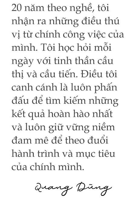 [eMagazine] - Ca sĩ Quang Dũng: Trong tôi tràn ngập sự biết ơn giải Mai Vàng - Ảnh 5.