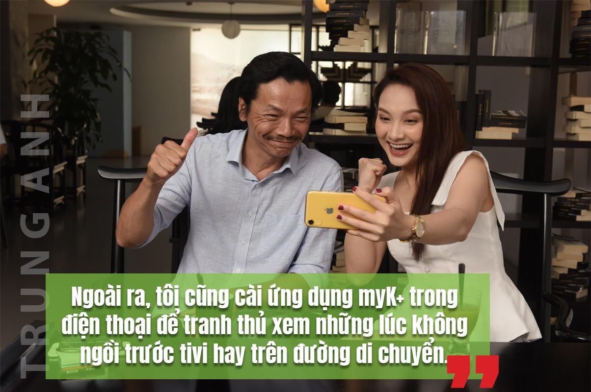 [eMagazine] Diễn viên Trung Anh: Bận đóng phim vẫn phải xem Ngoại hạng Anh - Ảnh 9.