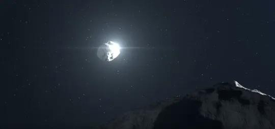 NASA phat hoang vi tang da khong lo sap suot qua trai dat