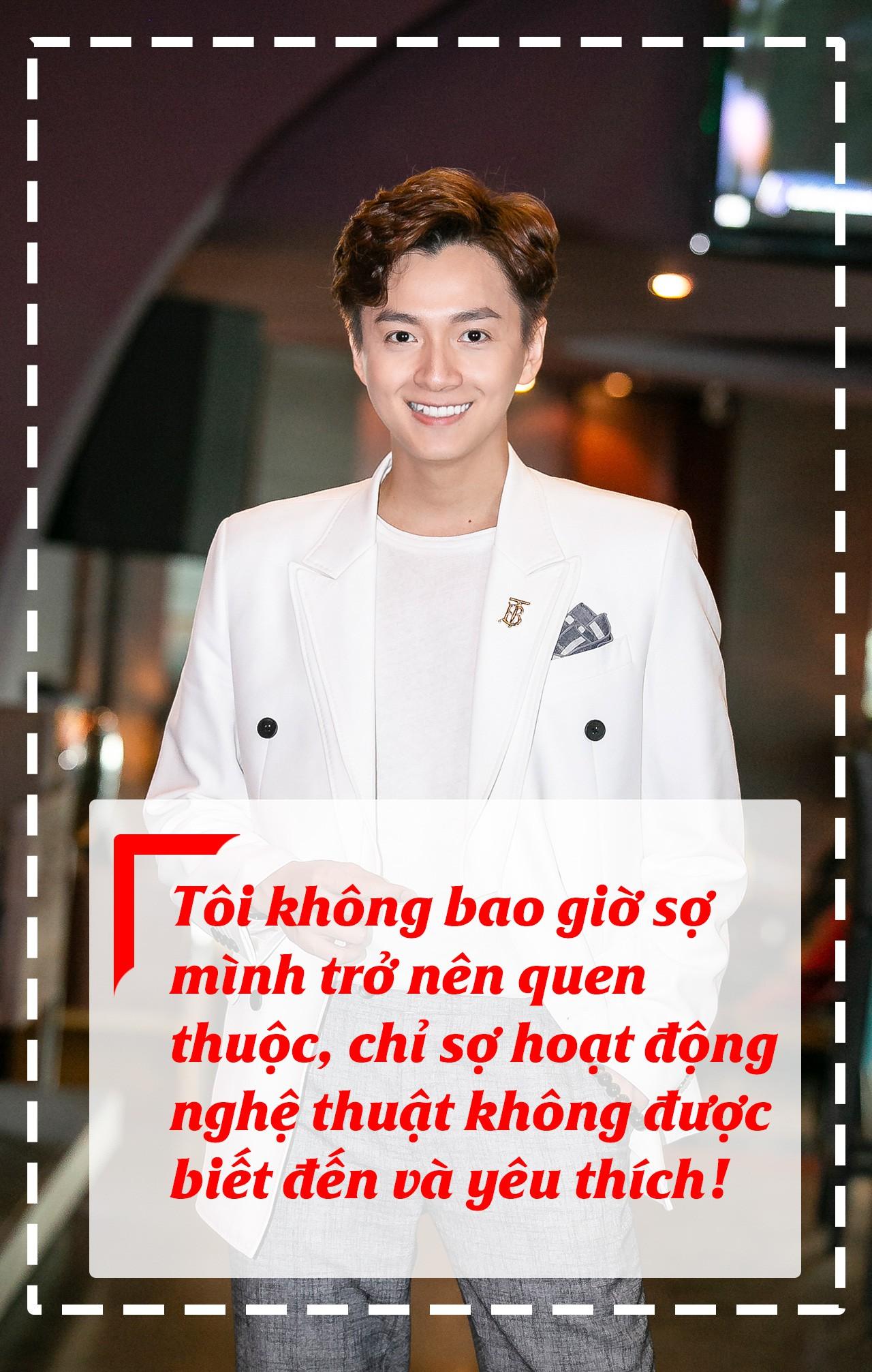 [eMagazine] Ngô Kiến Huy: Chưa tham gia nghệ thuật, đã biết Mai Vàng! - Ảnh 5.