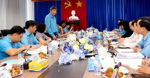 Bình Dương: Chú trọng phát triển Đảng trong công nhân - Ảnh 1.