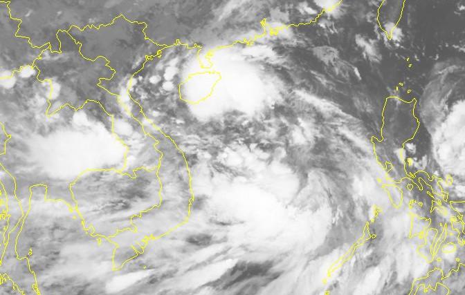 Dị thường xuất hiện 2 áp thấp nhiệt đới cùng lúc trên Biển Đông - Ảnh 2.